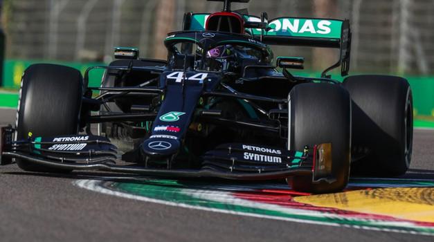Formula 1, VN Emilia Romagna: V kaosu Imole najbolj uspešen Hamilton (foto: Daimler)