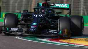 Formula 1, VN Emilia Romagna: V kaosu Imole najbolj uspešen Hamilton