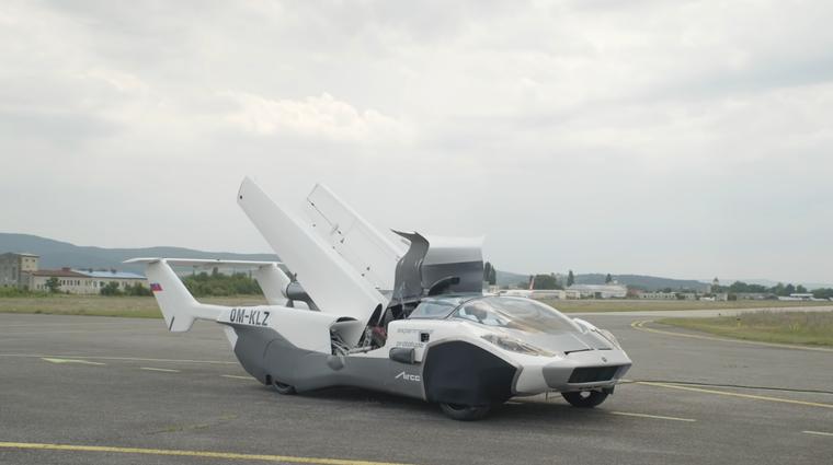 Leteči avtomobil? Naslednji prihaja iz Slovaške (video) (foto: Youtube: Klein Airvision)