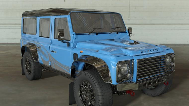 Land Rover obudil starega Defenderja in izdelal najbolj skrajno različico doslej (foto: Bowler)