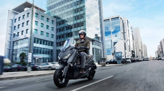 Bo Yamaha kmalu predstavila hibridni skuter? (foto: yamaha press)