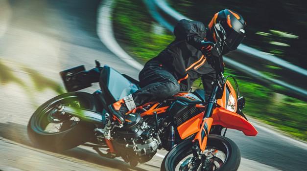 Premiera: KTM-u ne zmanjkuje sape, predstavili so še dve novosti (foto: KTM)