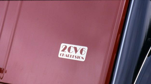 2CV Charleston - 'Spaček', ki se je zapisal med legende (foto: Citroen)