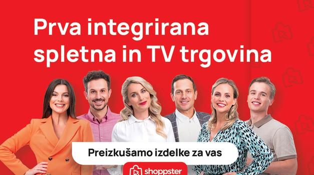 Tukaj je Shoppster – prva spletna in televizijska trgovina v Sloveniji! (foto: United Group)