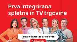 Tukaj je Shoppster – prva spletna in televizijska trgovina v Sloveniji!