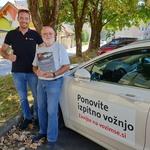 To je največja težava večine slovenskih voznikov (foto: Zavarovalnica Triglav)