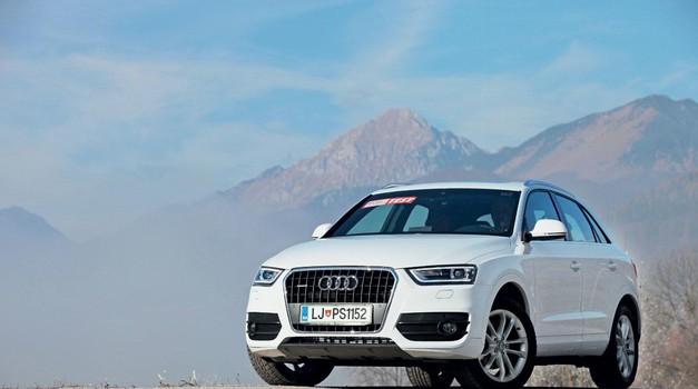 Rabljen avtomobil: Audi Q3 (2011-2018) - Edina težava je – cena! (foto: Aleš Pavletič/Arhiv Am)