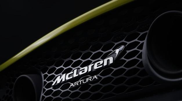 McLaren popularizira hibridizacijo z Arturo (foto: McLaren)