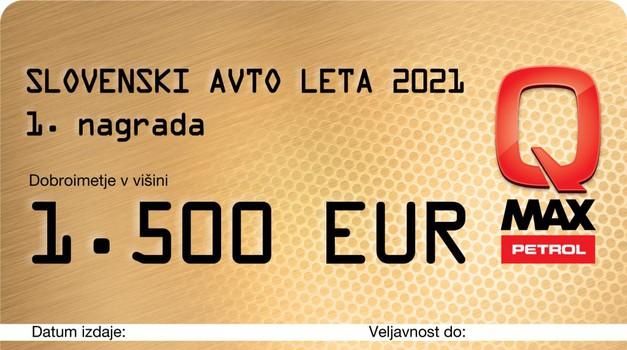Slovenski avto leta - znane tudi lepe nagrade! (foto: SAL)
