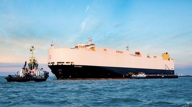 Ladijski transport novih avtomobilov - tu je rešitev za čistejše izpuste (foto: Volkswagen)
