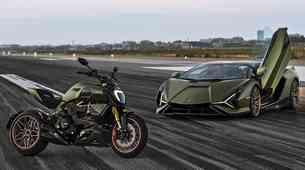 Ducati Diavel 1260 Lamborghini - drag in redek