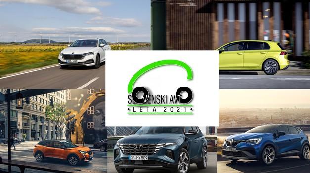 Znani so finalisti za Slovenski avto leta 2021, to pa je avtomobil, ki zaenkrat vodi v skupnem seštevku