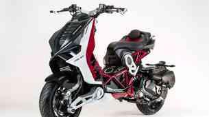 Italjet Dragster - prenovljen še pred pričetkom prodaje