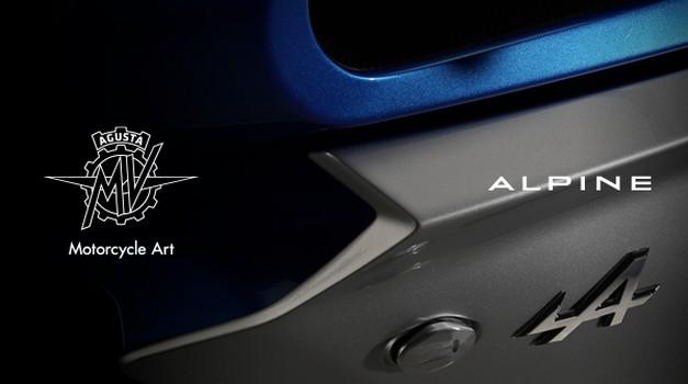 MV Agusta in Alpine pripravljata prav poseben projekt (foto: MV Agusta)