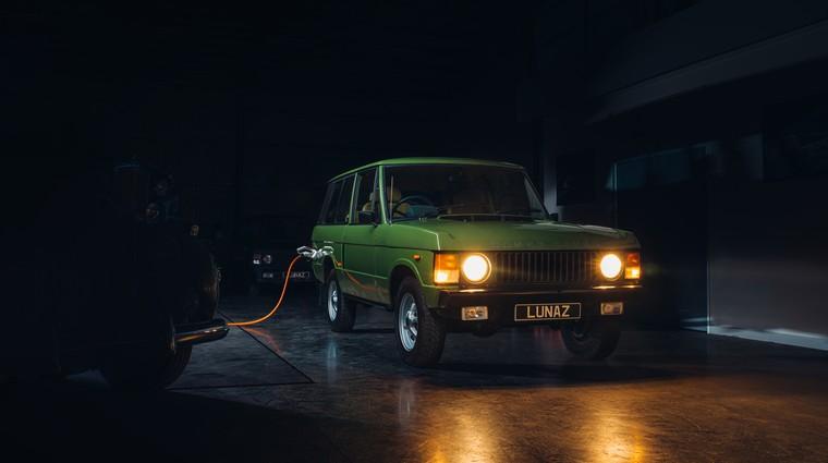 Klasični Range Rover dobiva sodobno preobrazbo (foto: Lunaz)