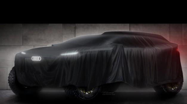 Silhueta novega prototipa je vse, kar so do zdaj pokazali pri Audiju. (foto: Audi Motorsport Communications)