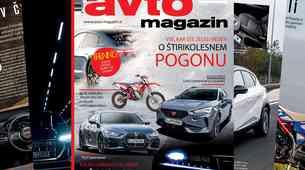Izšel je novi Avto magazin: Test: Renault Captur e-tech, nove tehnologije na področju žarometov...