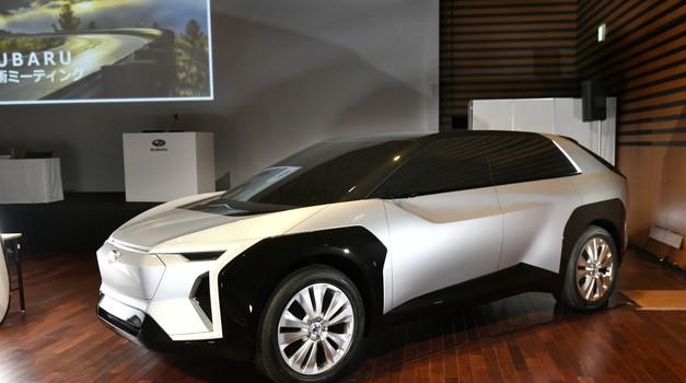 Subaru najavlja baterijsko električni SUV (foto: Subaru)