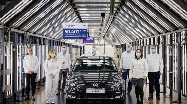 Prvi velikoserijski električni Volkswagen odhaja v pokoj (foto: Volkswagen)