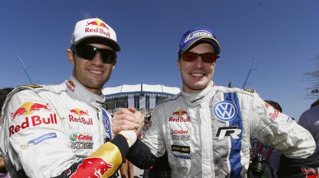 Sedemkratni svetovni prvak Seb Ogier je bil v dveh ekipah kolega z Latvalo. Vedno sta imela prijateljski odnos. (foto: Bildagentur Kräling)