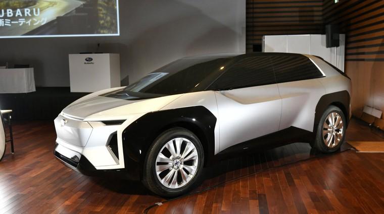 Konec avtomobilov z motorji z notranjim izgorevanjem napovedala še ena avtomobilska velesila (foto: Subaru)