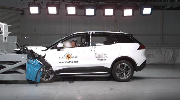 Global NCAP opozarja na selektivnost avtomobilskih proizvajalcev na področju varnosti (foto: Euro NCAP)