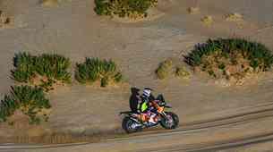 Dakar 2021, četrti dan: kje so motociklistični favoriti?