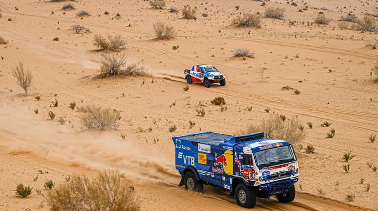 Dakar 2021, osmi dan: minimalne razlike (foto: A.S.O.)