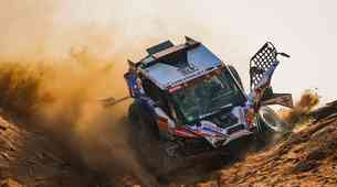 Dakar 2021, deveti dan: konec za Loeba!