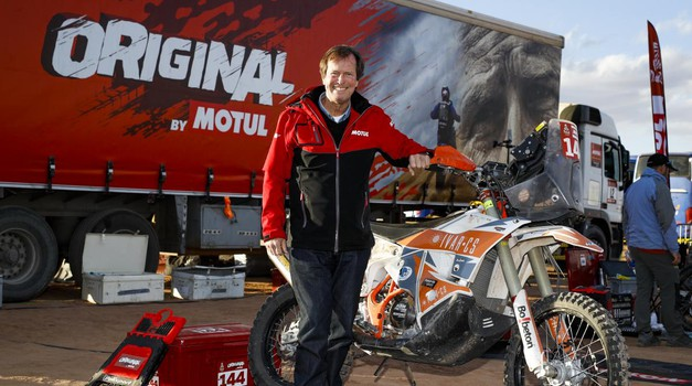 Poslovil se je Hubert Auriol, uspešni dirkač in direktor relija Dakar (foto: A.S.O.)