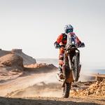 Dakar 2021: padci med najboljšimi se nadaljujejo (foto: A.S.O.)