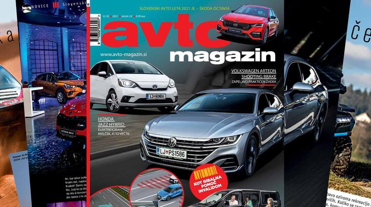 Izšel je novi Avto magazin: testirali smo novega Arteona Shooting Brake, predstavljamo Dacio Sandero...