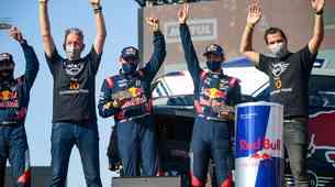 Dakar 2021: Peterehansel z etapno zmago do novega mejnika