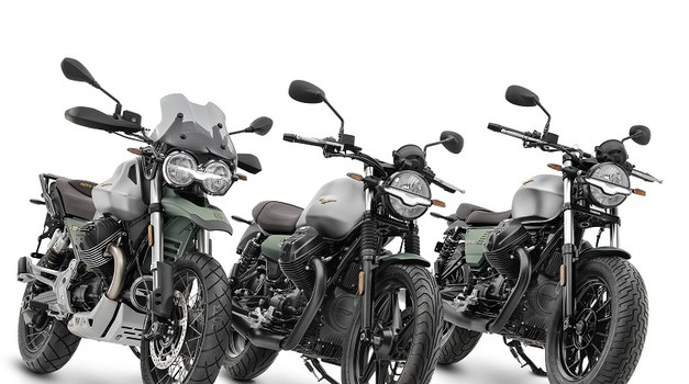 Moto Guzzi ob stotem rojstnem dnevu predstavlja slavnostno paleto treh modelov (foto: moto guzzi)