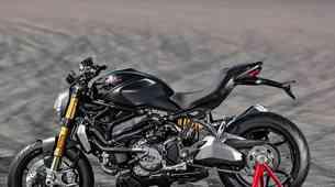 Ducati Monster s številko 350.000
