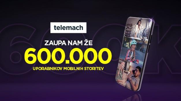 Telemach slavi novo prelomnico - 600.000 uporabnikov (foto: Telemach)