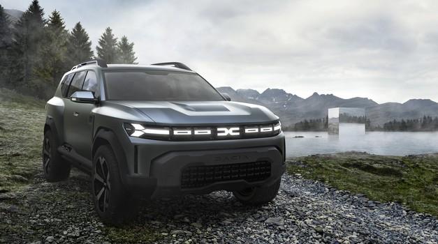 Koncern Renault pripravlja nov globalni SUV z 'milijonsko naklado' (foto: Dacia)