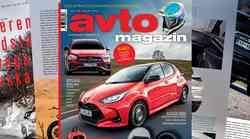 Izšel je novi Avto magazin: kako pravilno sedeti za volanom? Testi: Toyota Yaris, Suzuki Across...