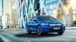 Škoda Enyaq Sportline napoveduje pravega električnega športnika