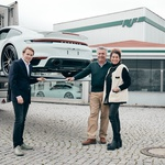 Prihaja še ena reinkarnacija legendarnega Porscheja 959, tokrat iz Nemčije (foto: Marc Phillip Gemballa)