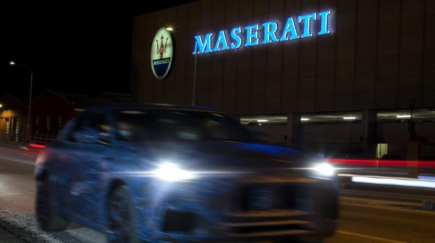 Maserati uvaja novega (manjšega) križanca! (foto: Maserati)