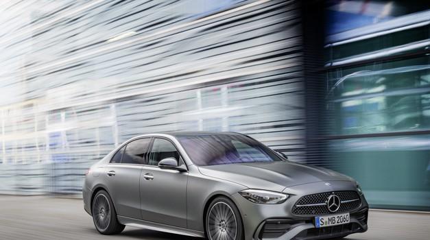 "Premiera: Mercedes-Benz razreda C ""kopira"" največjega brata (foto: Mercedes-Benz)"