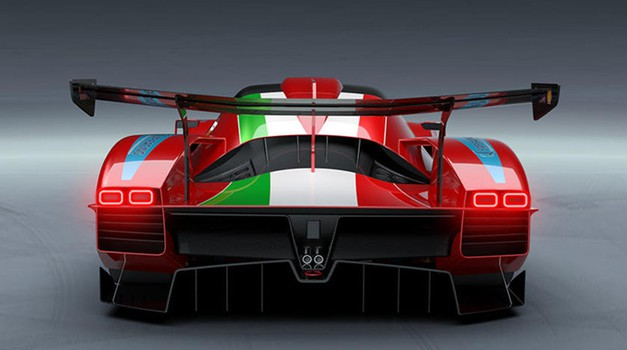Ferrari  po pol stoletja nazaj v novi kraljevski razred prvenstva WEC! (foto: Vito Possidente)
