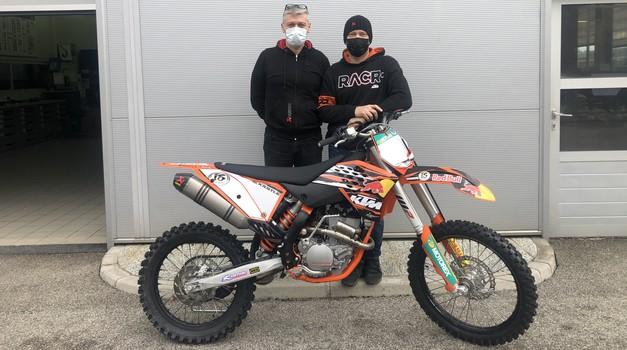 Prenova motokros motocikla (foto: Osebni arhiv)