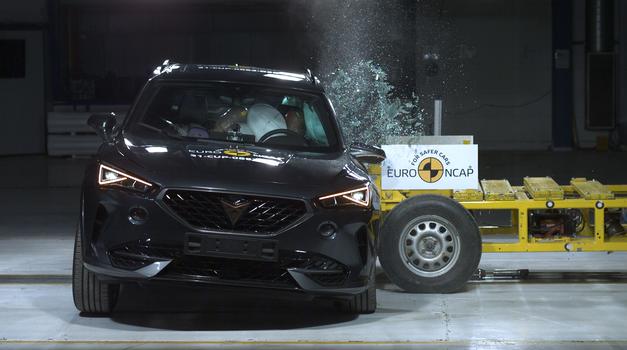 Preizkusni trki EuroNCAP: popoln začetek leta (foto: Euro NCAP)