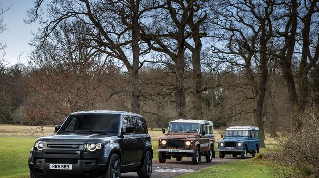 Defender dobiva še tretjo različico (foto: Jaguar-Land Rover)