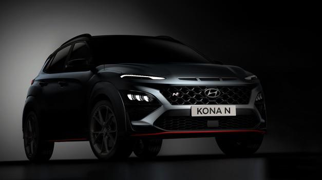 Napoved: Hyundai Kona N - ključni elementi so tu (foto: Hyundai)