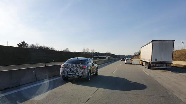 Videno: Prva flota testnih BMW X4 že na cestah... katere spremembe se obetajo? (foto: Urban Vitez)
