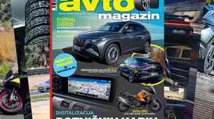 Izšel je novi Avto magazin: LCD zasloni: dobrodošli ali nevarni? Test: Hyundai Tucson, Mercedes-Benz GLE Coupe...
