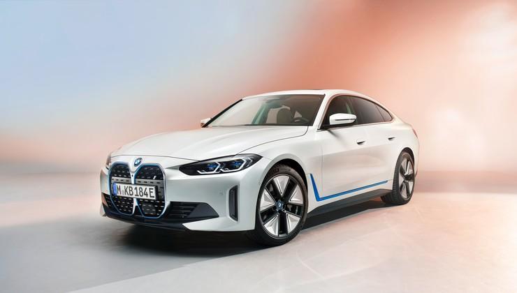 BMW i4 - ne zgolj napoved štirivratnega električnega kupeja